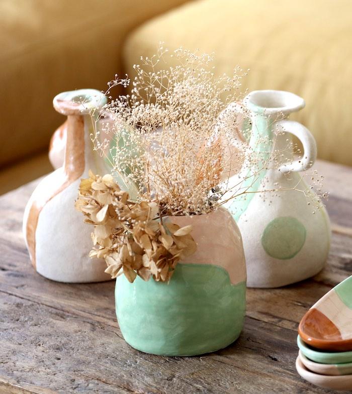 Imagen del producto Jarrón cerámica esmaltada | Almudena Laborda