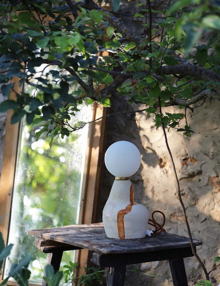 Imagen Lámpara decoración cerámica | Almudena Laborda